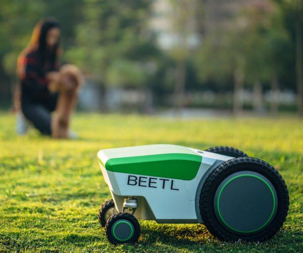 The Beetl Robot Is Designed to Pick up Dog Poop