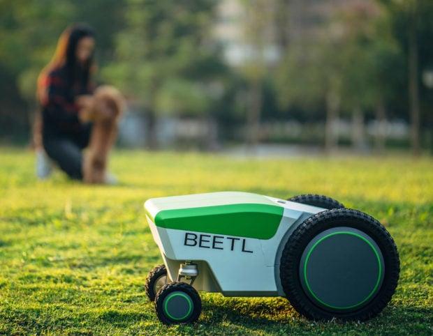 The Beetl Robot Is Designed to Pick up Dog Poop