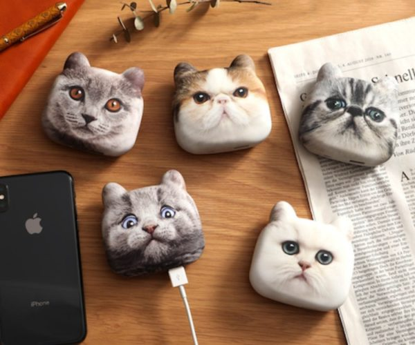Cat Head Chargers: For Purring up Your Gadgets
