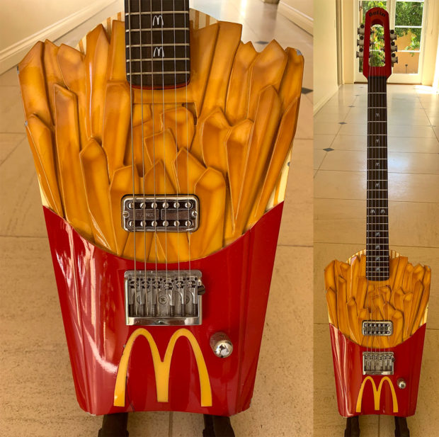 French Fry Guitar: Would You Like Strings with That?