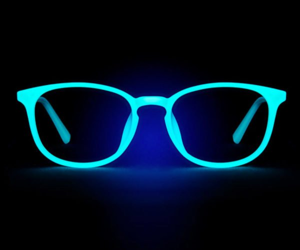 These Eyeglass Frames Glow in the Dark
