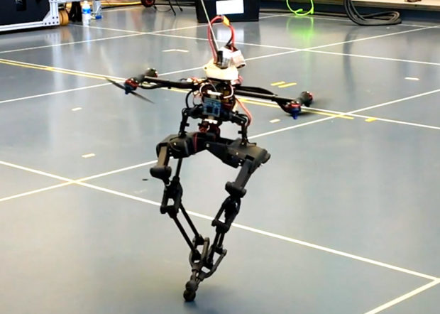 This Drone Has Legs and Can Walk