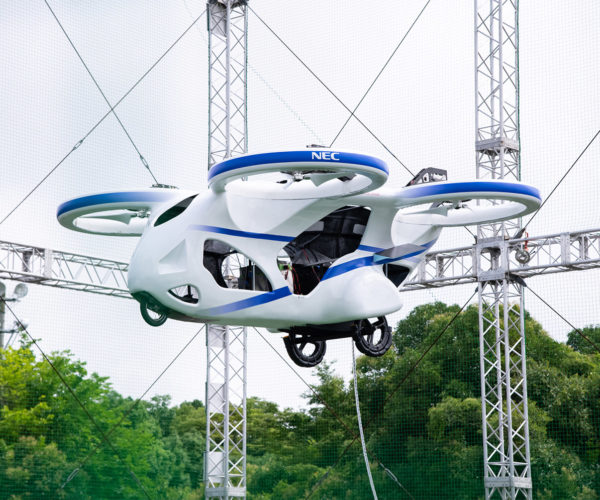 NEC's Flying Car Is a Giant Drone for Humans