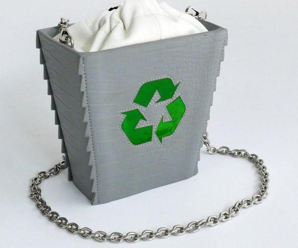 Recycle Bin Bag Reminds You to Empty Your Purse