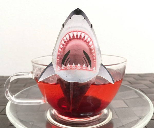 Shark Tea Bags: We're Gonna Need a Bigger Cup!