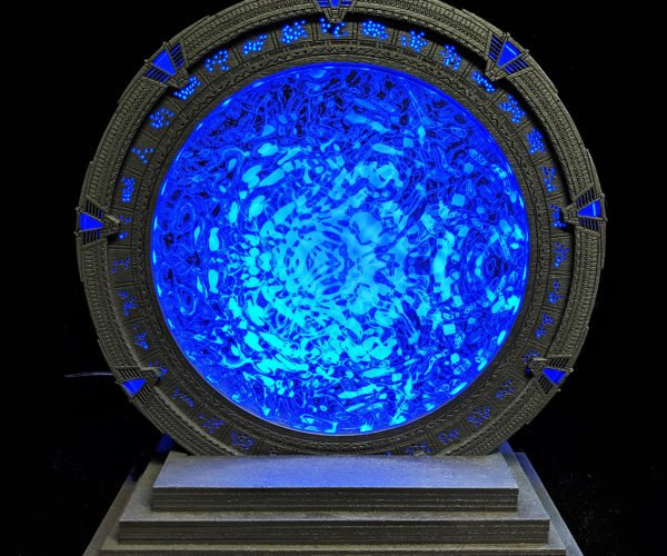 Stargate Lamps Open a Portal to Another World on Your Desk