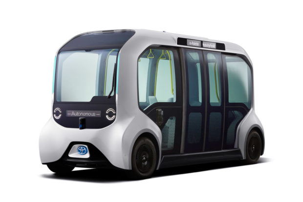 Toyota e-Palette Autonomous Vehicles to Transport Tokyo Olympic and Paralympic Athletes