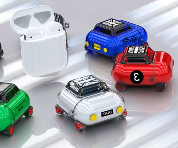 Store Your AirPods in a Tiny Car