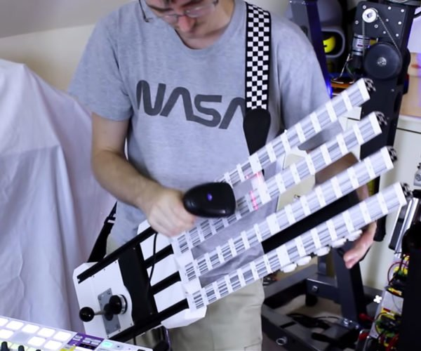 The Barcode Guitar Is Cooler than a Keytar