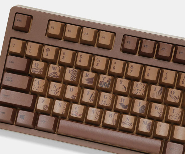 The Chocolate Cubes Keyboard Looks Good Enough to Eat