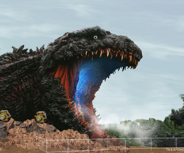 Japanese Theme Park Getting Life-Size Godzilla!