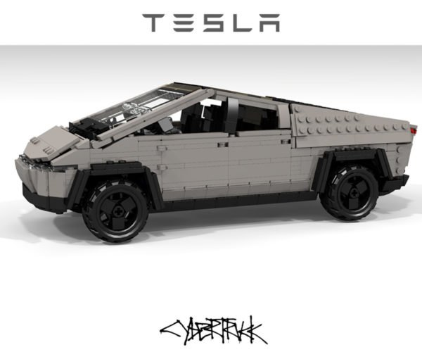 Someone Already Made a LEGO Tesla Cybertruck