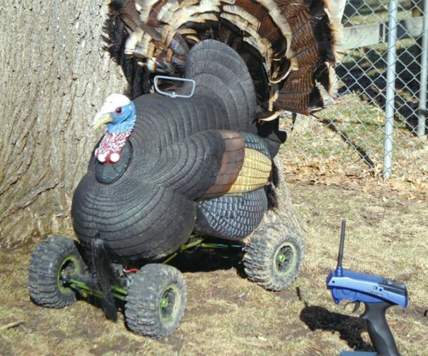 This R/C Turkey Has Four-wheel Drive