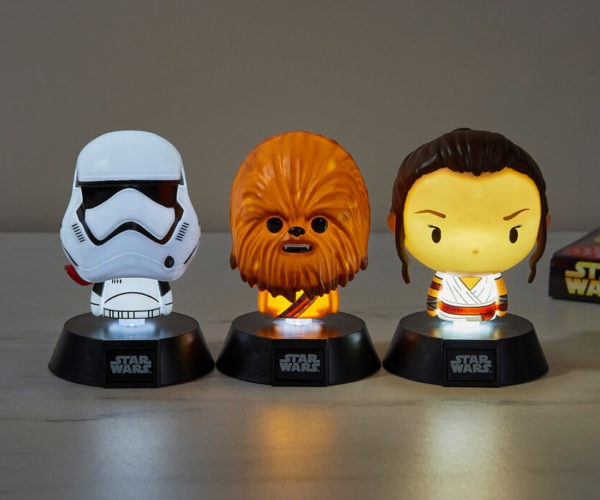Star Wars Icon Lights: The Cute Side of the Force