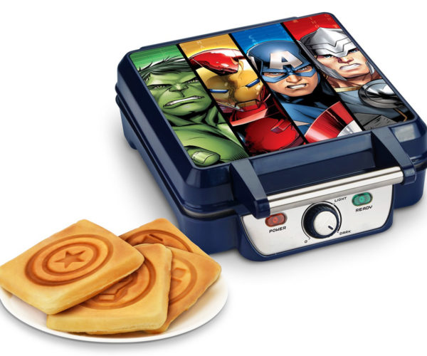 Avengers Waffle Maker: Butter and Syrup, Assemble!