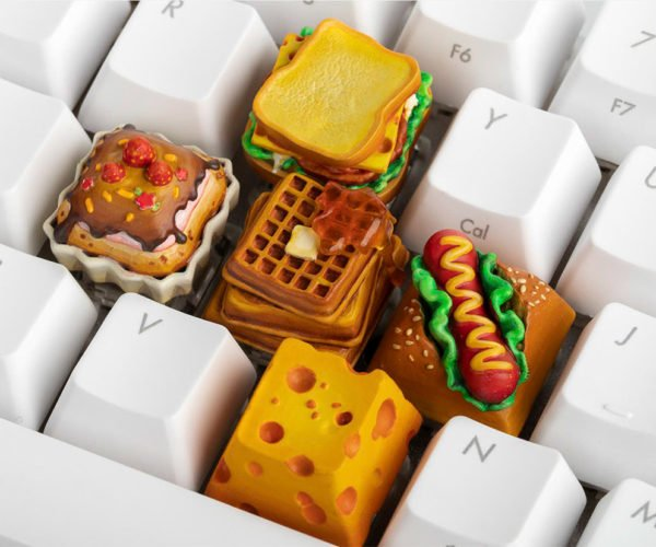 These Food Keycaps Look Good Enough to Eat