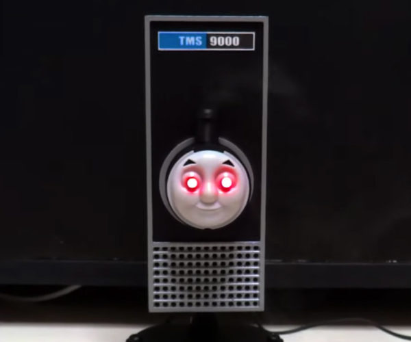 Thomas the Tank Engine Meets HAL 9000: TMS 9000