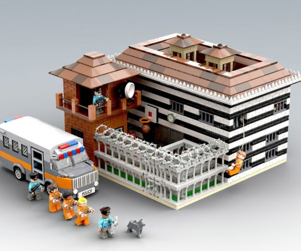 LEGO Maximum Security Prison Puts Your Minifigs Behind Bars