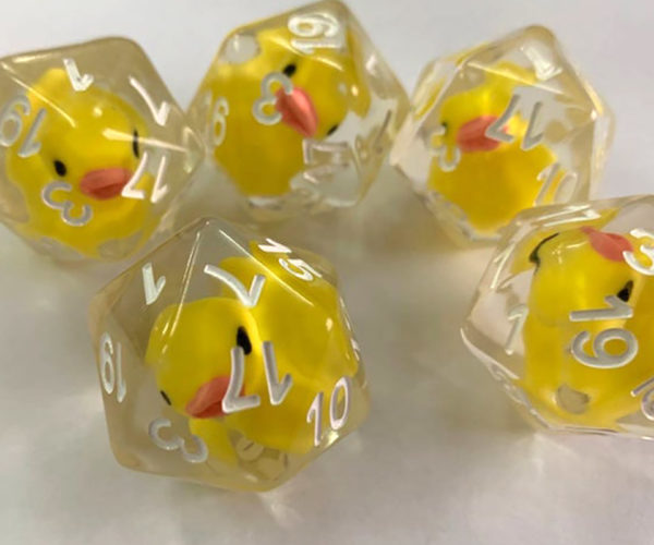 Rubber Ducky D20, You're The One