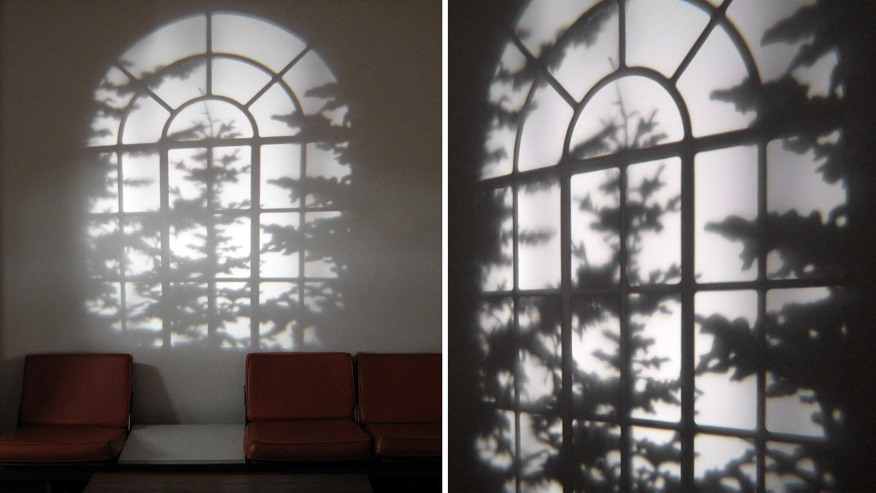 Reveal Window Light Projects Imaginary Shadows Onto Your Wall
