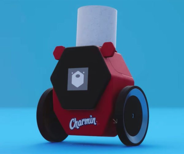 Toilet Paper Robot Can Always Spare a Square