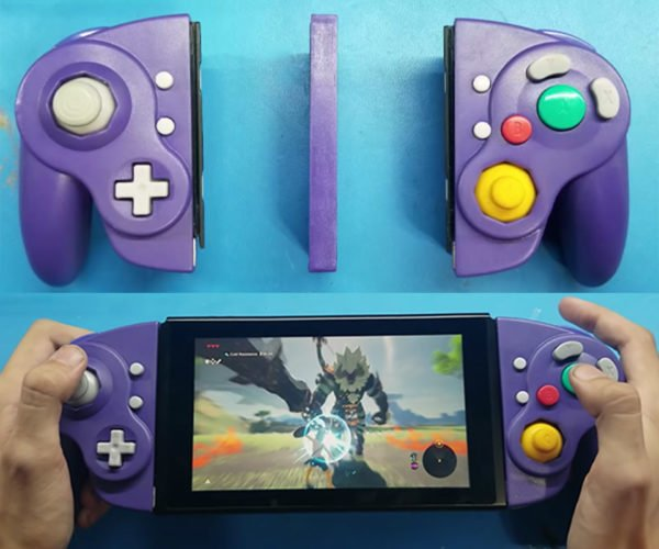Modder Made Working GameCube Joy-Cons for His Nintendo Switch