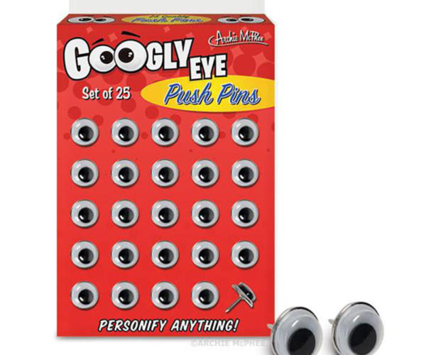 Googly Eye Push Pins Have Got Their Eyes on You