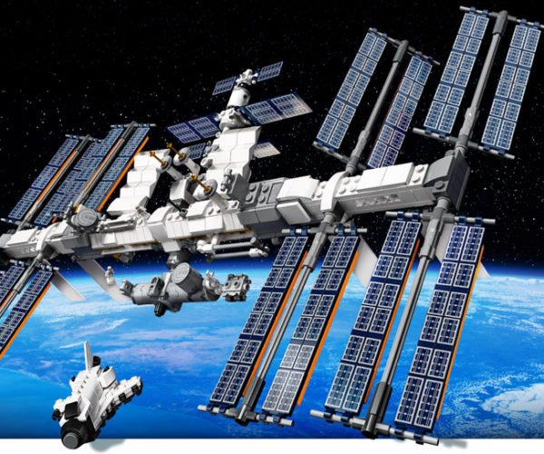 LEGO International Space Station Model Ready to Sail Into Space
