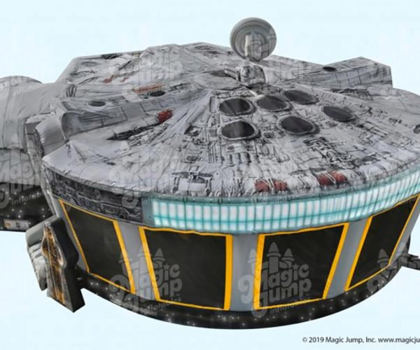 Millennium Falcon Bouncy House: Jump to Hyperspace