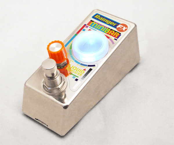 Pour Your Booze into the Minibar Guitar Effect Pedal and Get It Drunk