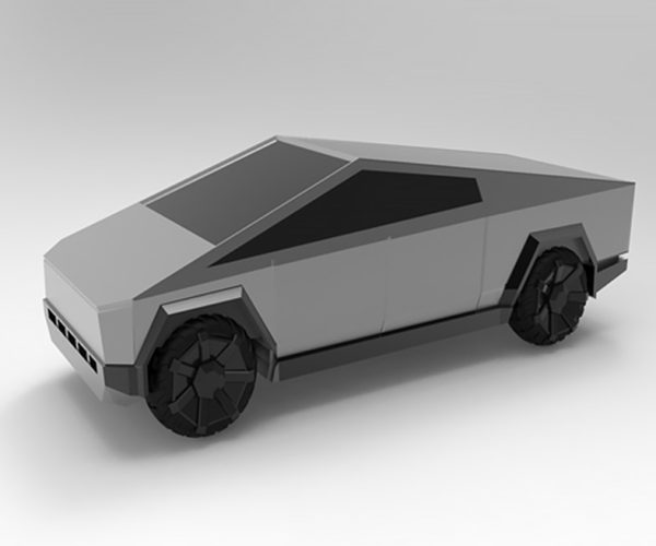 Print Your Own Tesla Cybertruck