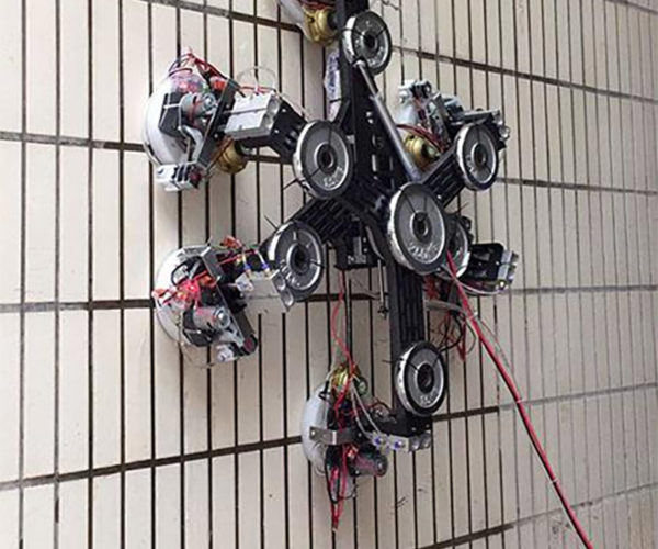 This Suction Cup Robot Can Climb Just About Any Wall