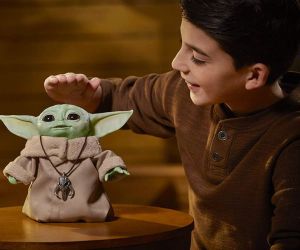 The Baby Yoda Animatronic Toy Is Adorable… and Ready for Pre-order