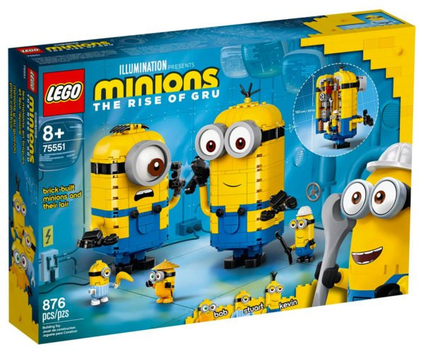 LEGO Minions Lair Set Puts Your Minions in a Minion