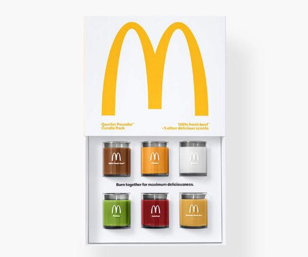 McDonald's Quarter Pounder Candles: I'm Lightin' It