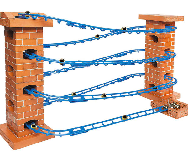 Build a Marble Run with Tiny Bricks and Mortar