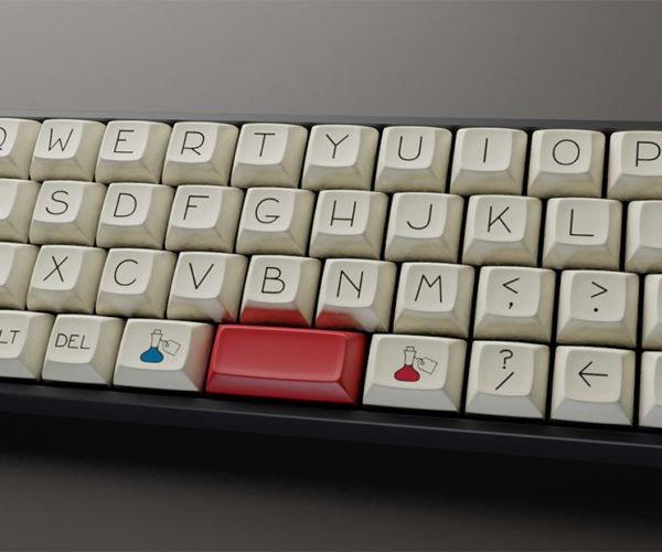 UnAlice: An Awesome Keycap Set Inspired by Alice in Wonderland