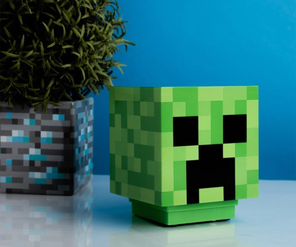 This Minecraft Creeper Lamp Shouldn't Explode When You Turn It On