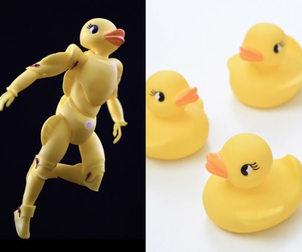 Rubber Duckie Action Figure: Bathtub Superhero