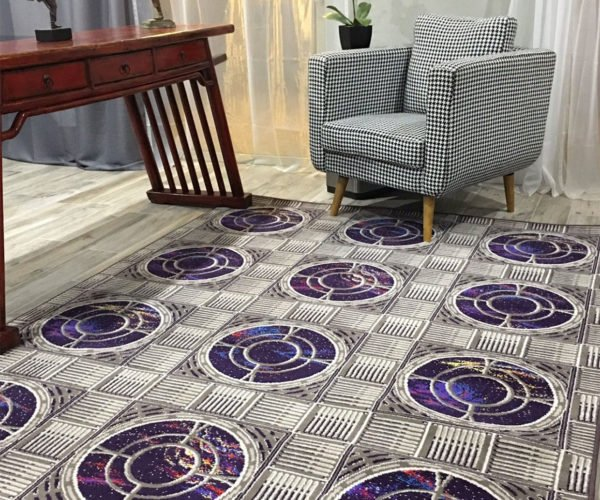 Star Trek Rugs Add a Little Space to Your Floor