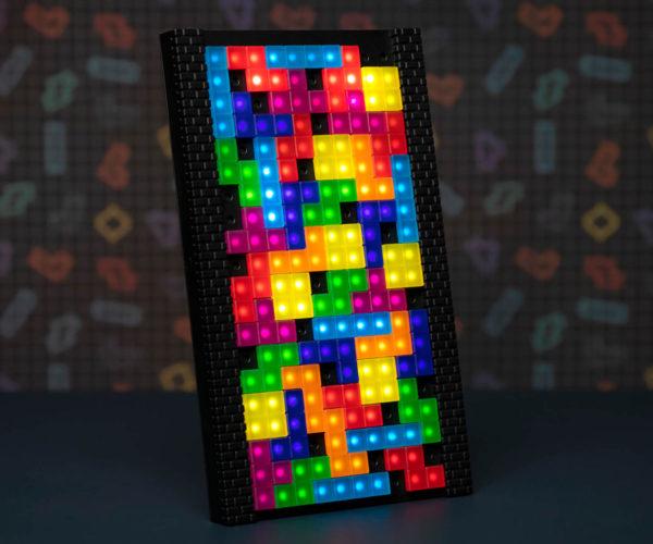 Tetris Lamp: Stack 'Em If You Got 'Em