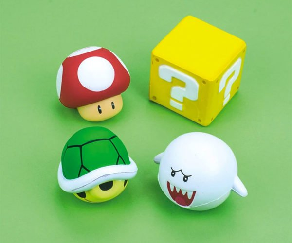 Super Mario Stress Balls: It's a Squeeze, Mario!