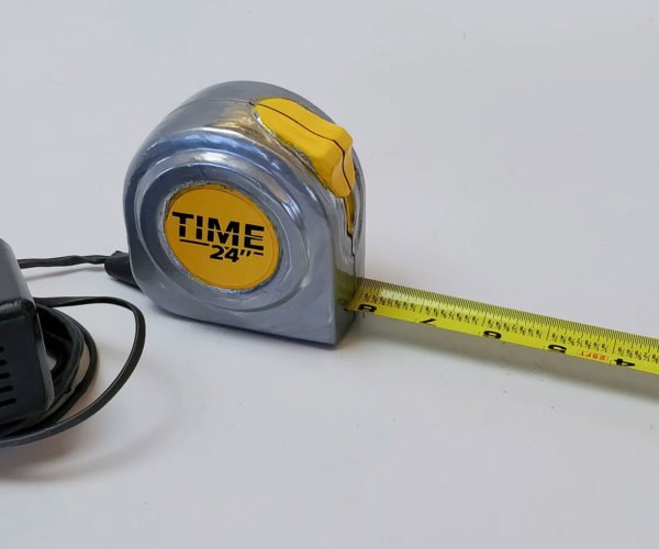 This Measuring Tape Measures Both Time and Distance