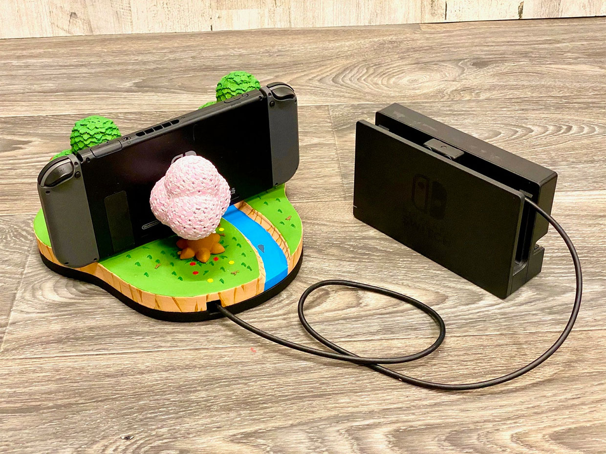 Dock Your Nintendo Switch In The World Of Animal Crossing