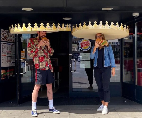 Burger King Social Distancing Crowns: Hold the Pickle, Hold the Coronavirus