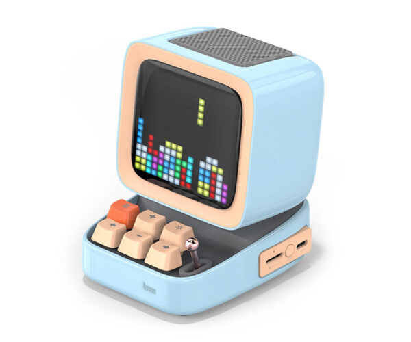 Divoom Ditoo Bluetooth Speaker Displays Pixel Art on a Tiny Retro Computer