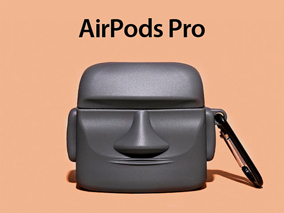 This Airpods Pro Case Looks Likes It Came From Easter Island