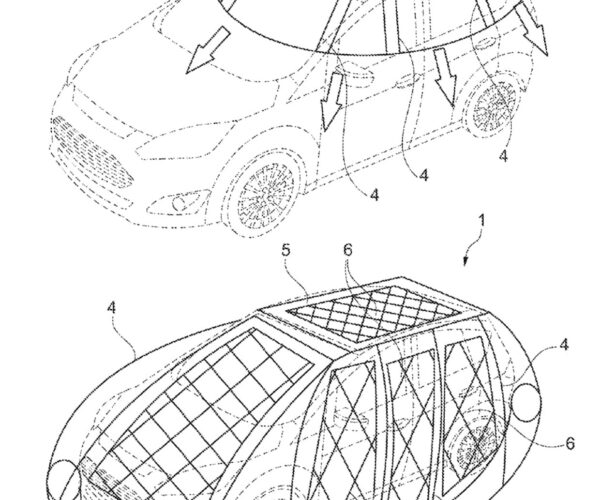 "Ford Solar Car ""Cocoon"" Patent Is Crazy Genius"