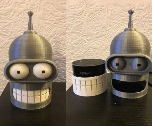 Of All the Echo Dot Holders I've Had, You're the First, Bender