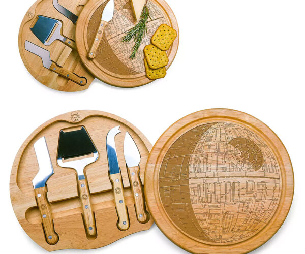 Death Star Cheese Board: That's No Brie!